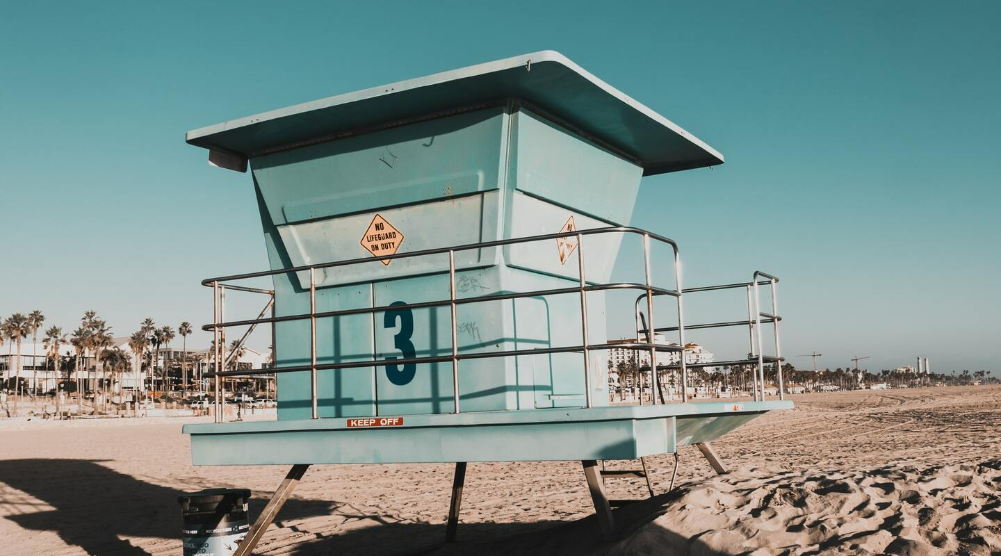 Lifeguard tower 2060301